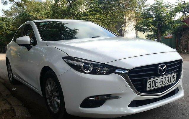 Bán Mazda 3 năm 2017 màu trắng, xe đẹp, chất, giá tốt8