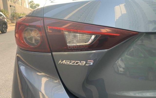 Bán Mazda 3 1.5 AT sản xuất năm 2015 màu xanh lam nguyên zin, giá tốt5