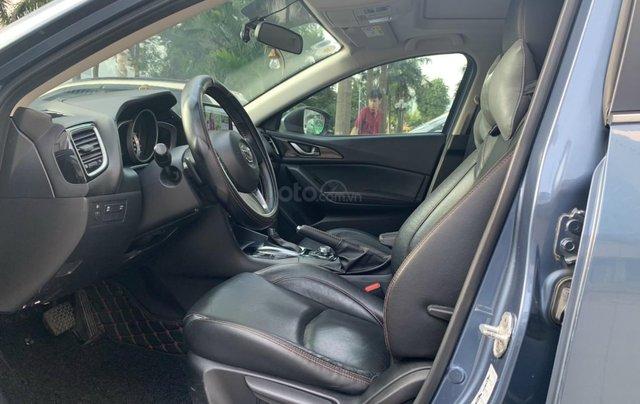 Bán Mazda 3 1.5 AT sản xuất năm 2015 màu xanh lam nguyên zin, giá tốt6