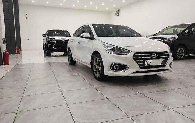 Bán Hyundai Accent năm 2018, màu trắng, xe chính chủ giá thấp3