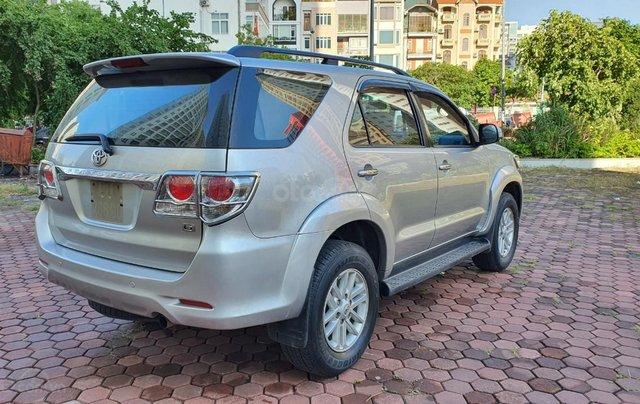 Toyota Fortuner G máy dầu, sản xuất năm 2014 mới về, màu bạc siêu zin5