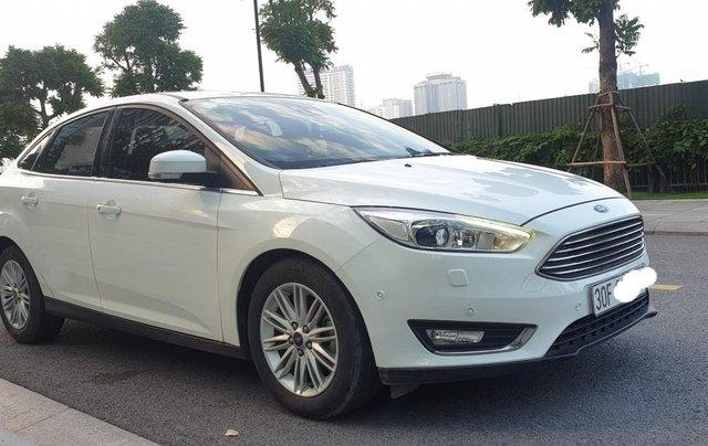 Bán Ford Focus 1.5 AT L Titanium màu trắng cực tiết kiệm nhiên liệu, giá tốt0