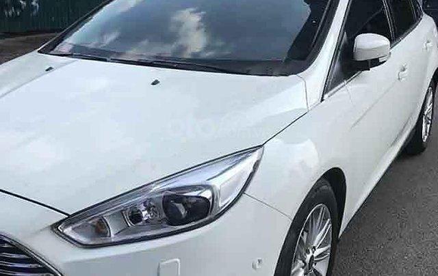 Xe Ford Focus Titatium 1.5L Ecoboost sản xuất 2016, màu trắng0
