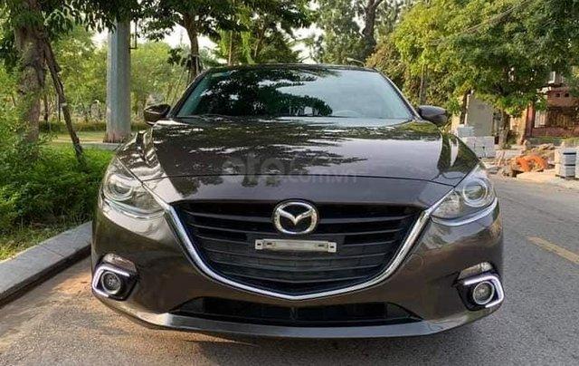 Cần bán xe Mazda 3 1.5AT SX 2017 màu nâu cafe0