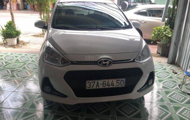 Cần bán xe Hyundai Grand i10 đời 2019, màu trắng2