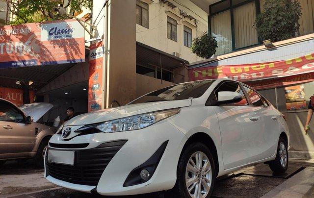 Chính chủ bán xe Toyota Vios bản E 1.5E AT đời 2019 xe còn mới nguyên, đi được 25 000km0