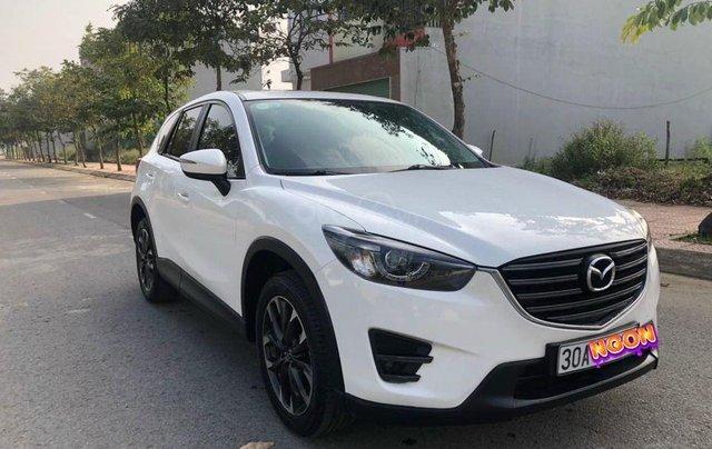 Bán xe Mazda CX 5 2.0 SX 2016, màu trắng0