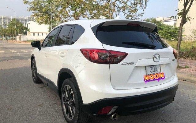 Bán xe Mazda CX 5 2.0 SX 2016, màu trắng1
