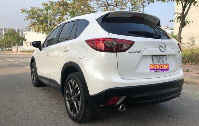 Bán xe Mazda CX 5 2.0 SX 2016, màu trắng2