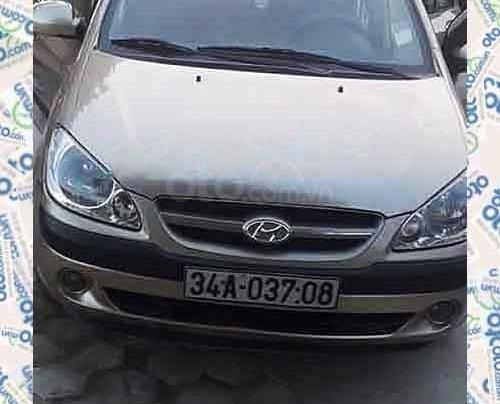 Cần bán lại xe Hyundai Getz 1.6 AT năm sản xuất 2007màu vàng cát, nhập khẩu nguyên chiếc0