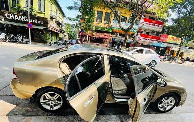 Cần bán Honda Civic năm sản xuất 2009, màu nâu, giá tốt3