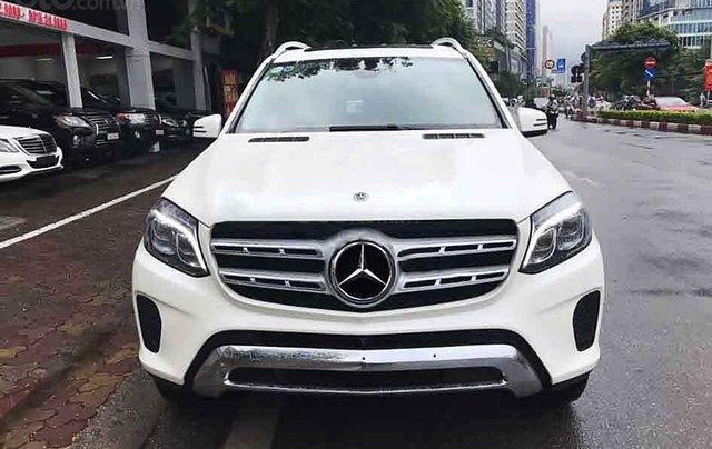 Bán xe Mercedes GLS400 năm sản xuất 2018, màu trắng, nhập khẩu nguyên chiếc số tự động0