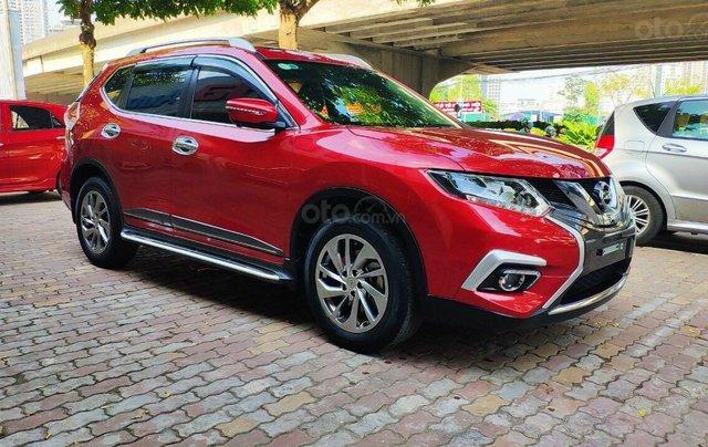 Cần bán gấp Nissan X trail đăng ký lần đầu 2018, màu đỏ ít sử dụng, giá thương lượng2