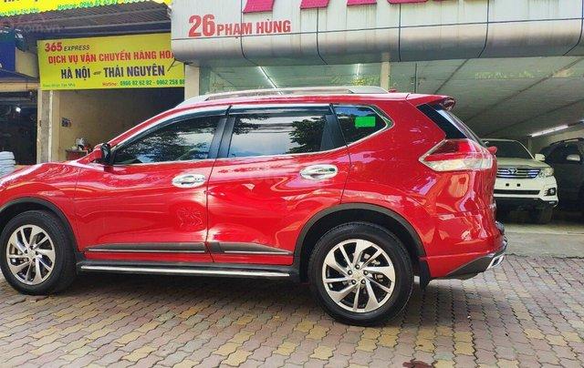 Cần bán gấp Nissan X trail đăng ký lần đầu 2018, màu đỏ ít sử dụng, giá thương lượng3