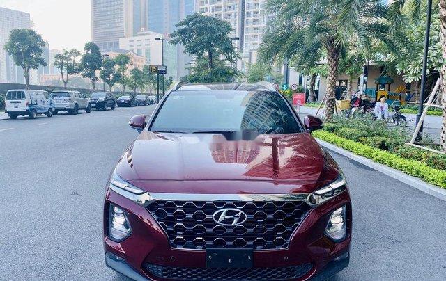 Cần bán xe Hyundai Santa Fe sản xuất năm 2020, màu đỏ chính chủ1