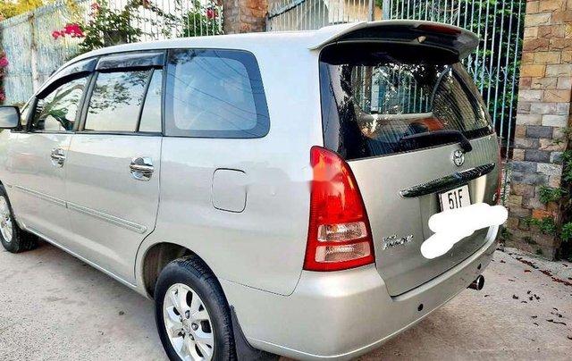 Bán ô tô Toyota Innova năm sản xuất 2008, màu bạc còn mới, 290tr3