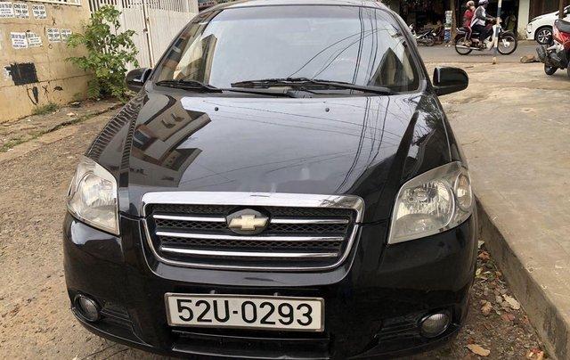 Bán ô tô Daewoo Gentra năm sản xuất 2008, màu đen, nhập khẩu0