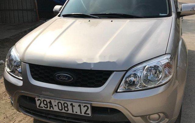 Cần bán gấp Ford Escape 2011, màu bạc, giá tốt1