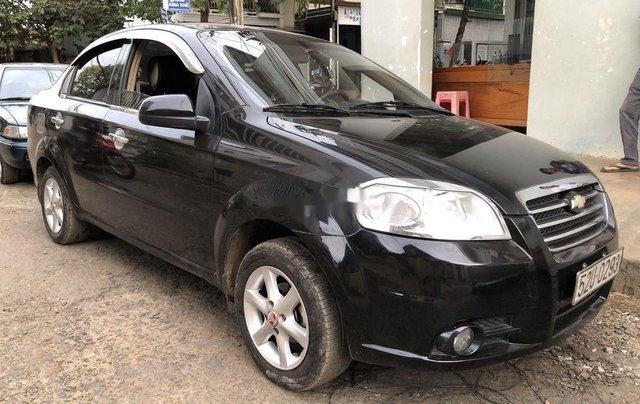 Bán ô tô Daewoo Gentra năm sản xuất 2008, màu đen, nhập khẩu1