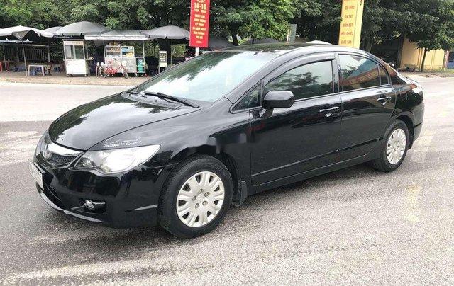 Bán ô tô Honda Civic sản xuất 2009, màu đen chính chủ2