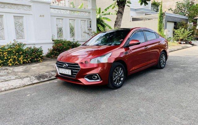 Cần bán xe Hyundai Accent đời 2018, màu đỏ, giá 455tr0