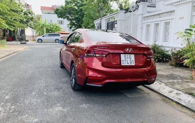 Cần bán xe Hyundai Accent đời 2018, màu đỏ, giá 455tr2