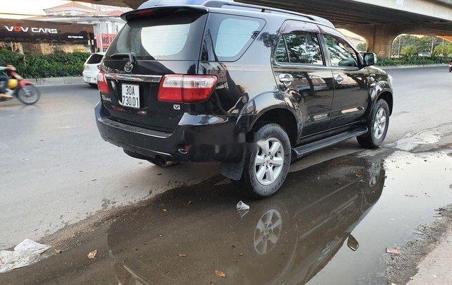Xe Toyota Fortuner 2009, màu đen chính chủ, giá tốt2