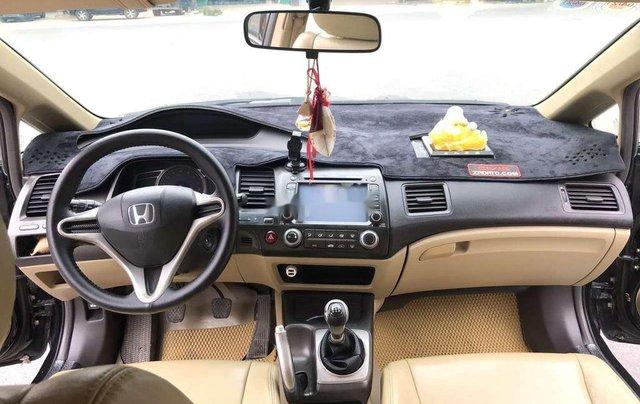 Bán ô tô Honda Civic sản xuất 2009, màu đen chính chủ4
