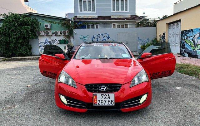Bán ô tô Hyundai Genesis đời 2010, màu đỏ, nhập khẩu, giá 475tr0