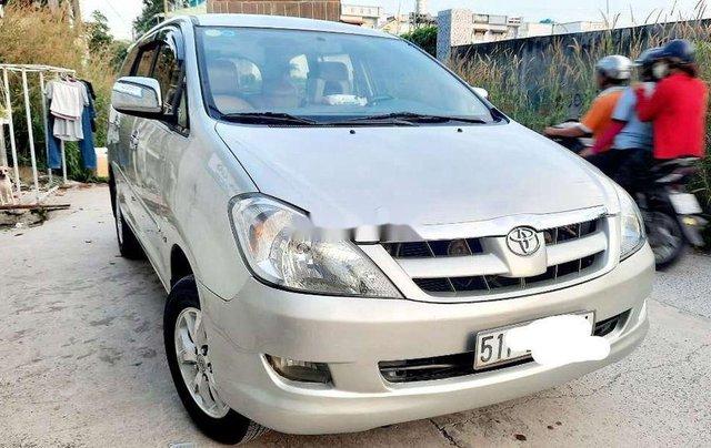 Bán ô tô Toyota Innova năm sản xuất 2008, màu bạc còn mới, 290tr1