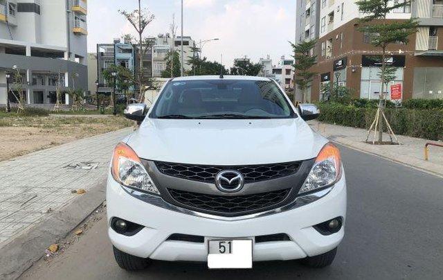Cần bán lại xe Mazda BT 50 đời 2016, màu trắng chính chủ, giá chỉ 485 triệu0