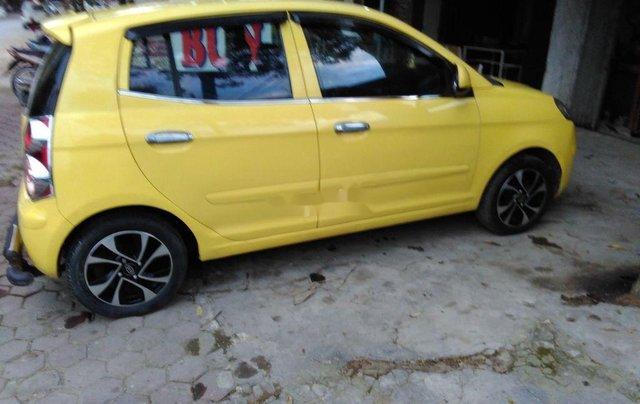 Bán ô tô Kia Morning sản xuất 2009, màu vàng2