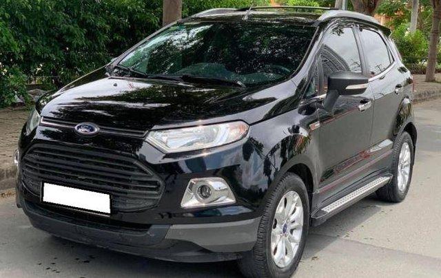 Bán Ford EcoSport năm 2014, màu đen như mới4