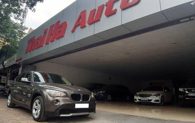 Cần bán lại xe BMW X1 đời 2011, màu xám, nhập khẩu còn mới, 515tr3