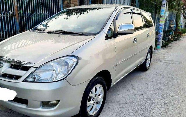 Bán ô tô Toyota Innova năm sản xuất 2008, màu bạc còn mới, 290tr0
