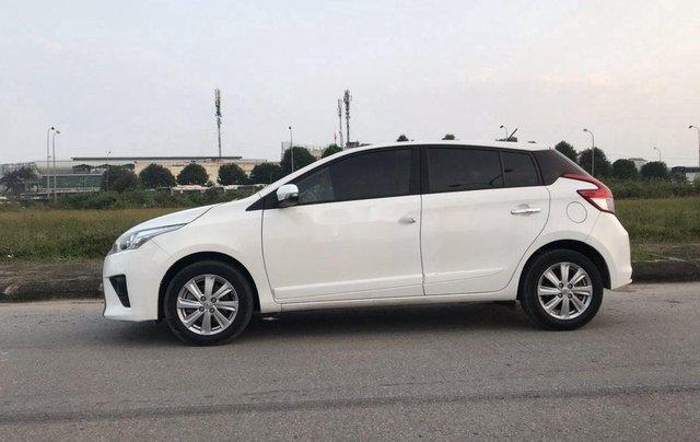 Bán xe Toyota Yaris 1.5 G AT đời 2016, màu trắng, nhập khẩu1