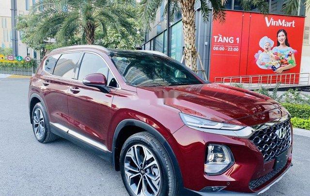 Cần bán xe Hyundai Santa Fe sản xuất năm 2020, màu đỏ chính chủ0