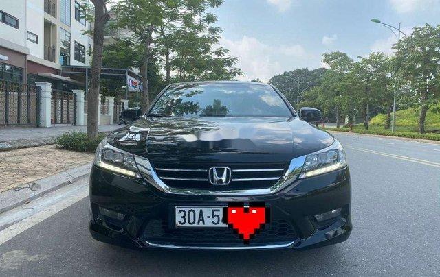 Cần bán lại xe Honda Accord đời 2014, màu đen, nhập khẩu, giá chỉ 679 triệu0