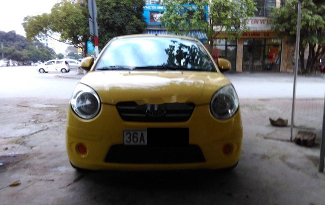 Bán ô tô Kia Morning sản xuất 2009, màu vàng1