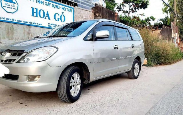 Bán ô tô Toyota Innova năm sản xuất 2008, màu bạc còn mới, 290tr7