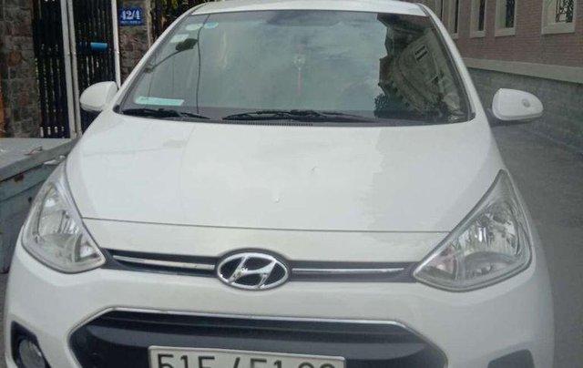 Xe Hyundai Grand i10 sản xuất 2016, màu trắng, nhập khẩu, 285 triệu1