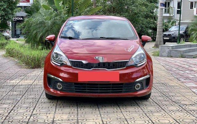 Cần bán lại xe Kia Rio năm sản xuất 2016, màu đỏ, nhập khẩu chính chủ, giá 425tr0