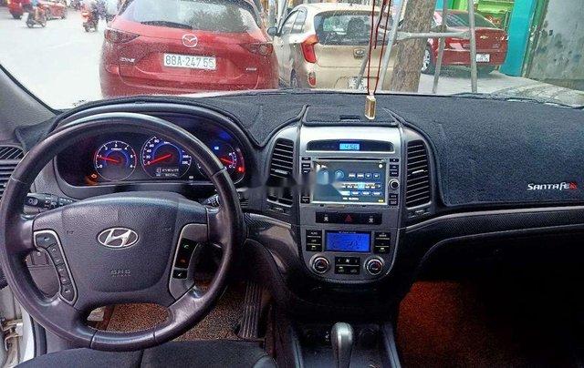 Bán ô tô Hyundai Santa Fe đời 2009, màu bạc, nhập khẩu nguyên chiếc9