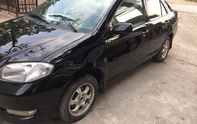 Cần bán gấp Toyota Vios đời 2005, màu đen chính chủ, 128tr0