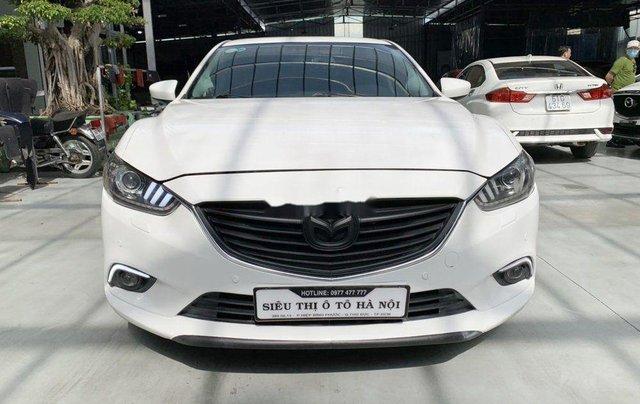 Xe Mazda 6 đời 2015, màu trắng chính chủ, giá tốt1