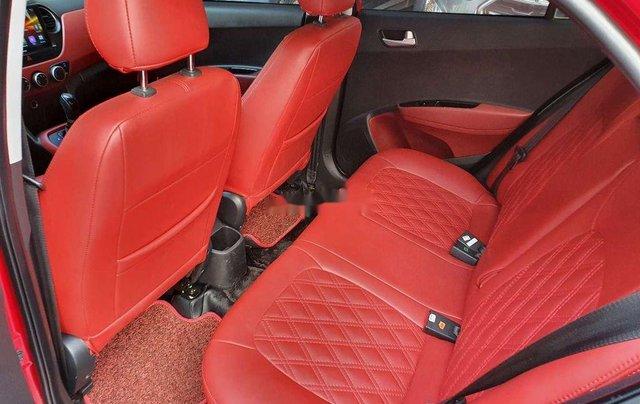 Bán xe Hyundai Grand i10 sản xuất 2018, màu đỏ chính chủ, giá tốt4