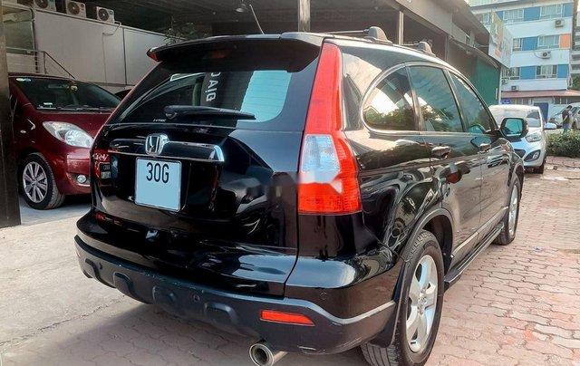Xe Honda CR V đời 2009, màu đen, xe nhập, giá tốt2