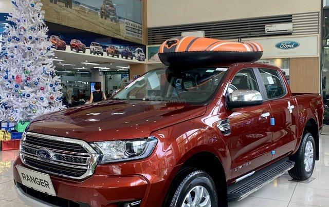 Ford Ranger Limited 2 cầu số tự động, tổng giảm đến 30 triệu khi mua xe1