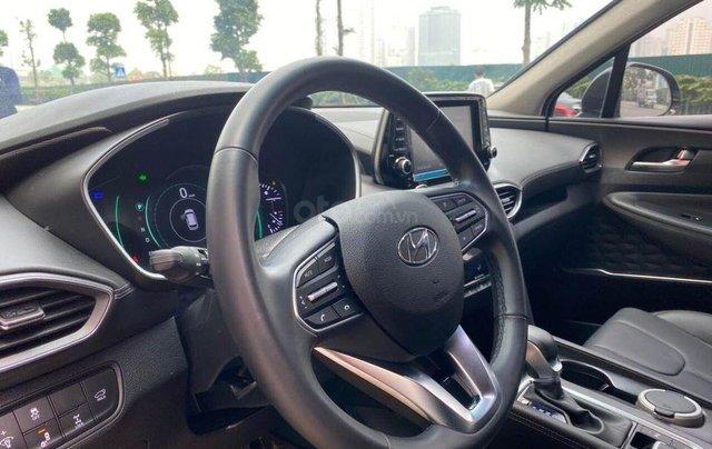 Hỗ trợ mua xe giá thấp với chiếc Hyundai Santafe phiên bản 2.2D máy dầu đặc biệt đời 20205
