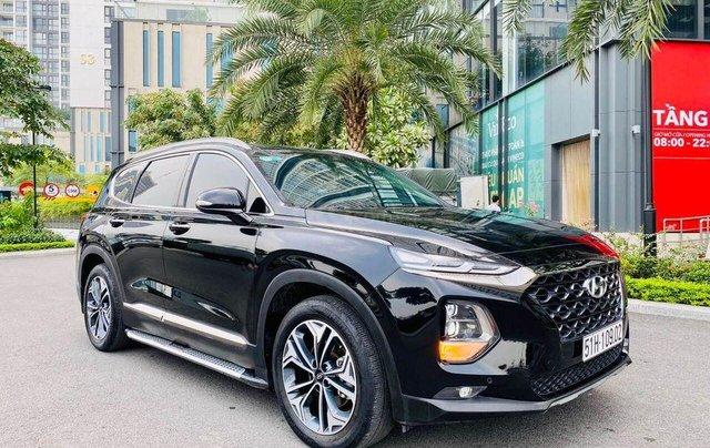 Hỗ trợ mua xe giá thấp với chiếc Hyundai Santafe phiên bản 2.2D máy dầu đặc biệt đời 20202